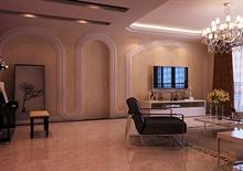 优雅欧式客厅装潢图