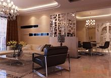 浅黄色调欧式风格客厅一角效果图
