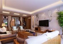 中式古典客厅装修图欣赏