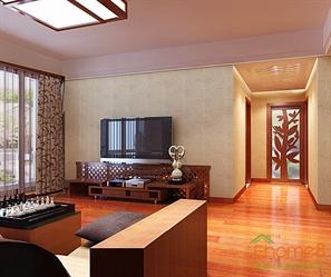 客厅托斯卡纳装修风格效果图欣赏