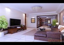 客厅简欧风格装饰设计