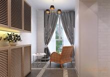 两房一厅-小清新休息区装潢图