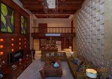 巴洛克式客厅装修设计