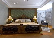 三房一厅卧室简欧风格设计
