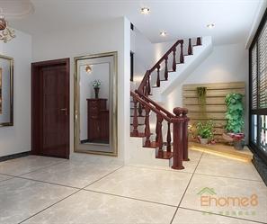 跃层楼梯装修图