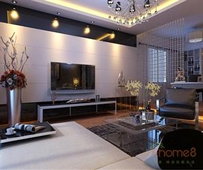 欧式现代客厅装修图