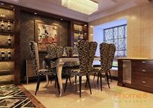 极具现代风格的餐厅装修效果图