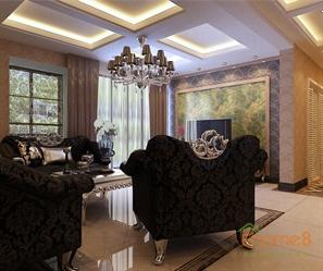 巴洛克 风格豪华客厅装修图