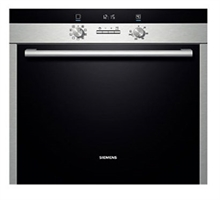 西门子 HB23AB551W 嵌入式不锈钢电烤箱 西班牙进口
