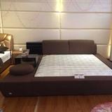 朝安家具 F033 1.8米时尚布艺软床