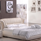 朝安家具 822 1.8米时尚真皮软床
