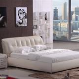 朝安家具856  1.8米时尚真皮软床