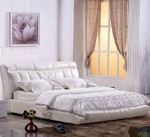 朝安家具 69802 1.8米时尚真皮软床