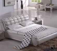 朝安家具 HP-080 1.8米时尚真皮软床