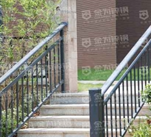 金为锌钢 楼梯扶手
