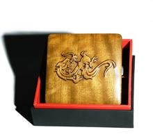 金韵轩 金丝楠香烟盒