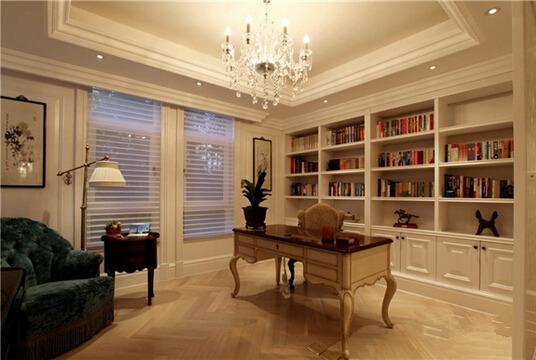 有这样的书房装修,孩子能不好好学习?