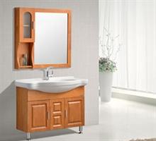 正品JOMOO九牧 落地式浴室柜 橡木实木板