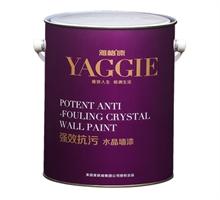 雅格强效抗污水晶墙漆