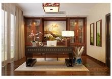 欣赏中式书房效果图