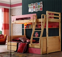 金鹏家具 卧室 高低床