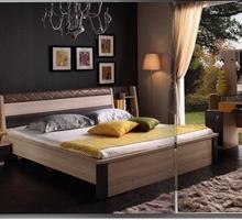金鹏家具 5K10#床+床头柜+衣柜+梳妆台