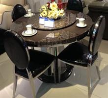 施华洛  AS-1209+4椅 餐桌+椅