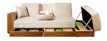 皇朝傢俬 日式多功能沙发床