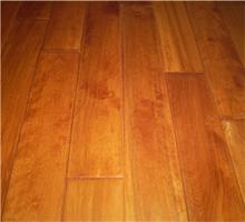 永吉地板 实木地板 桦木(黄花梨色)