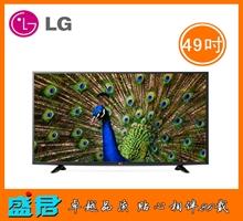 LG 49英寸4K超高清硬屏网络电视49UF6400