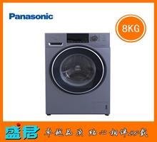 松下8公斤变频滚筒洗衣机XQG80-E8225