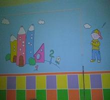 专业幼儿园墙画学校文化墙画