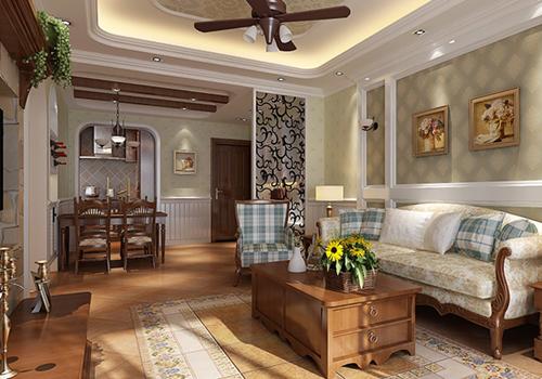 美式地砖怎么选择好 四款客厅美式地砖搭配效果